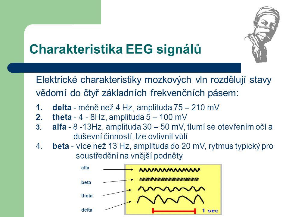 Charakteristika EEG signálů