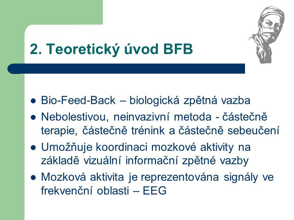 2. Teoretický úvod BFB Bio-Feed-Back – biologická zpětná vazba