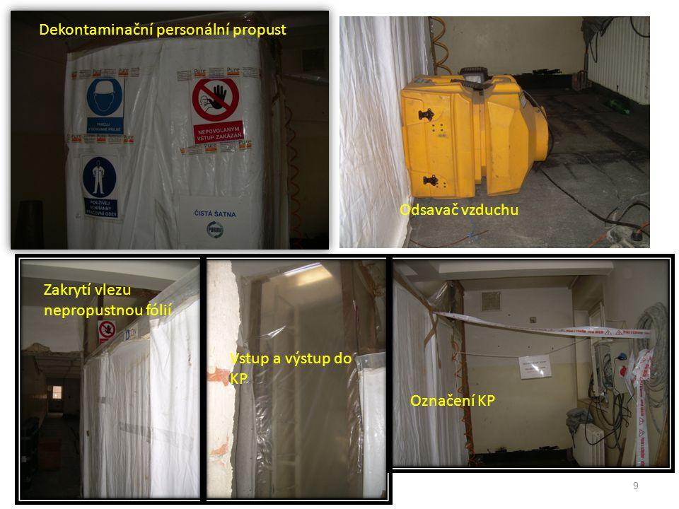 Dekontaminační personální propust