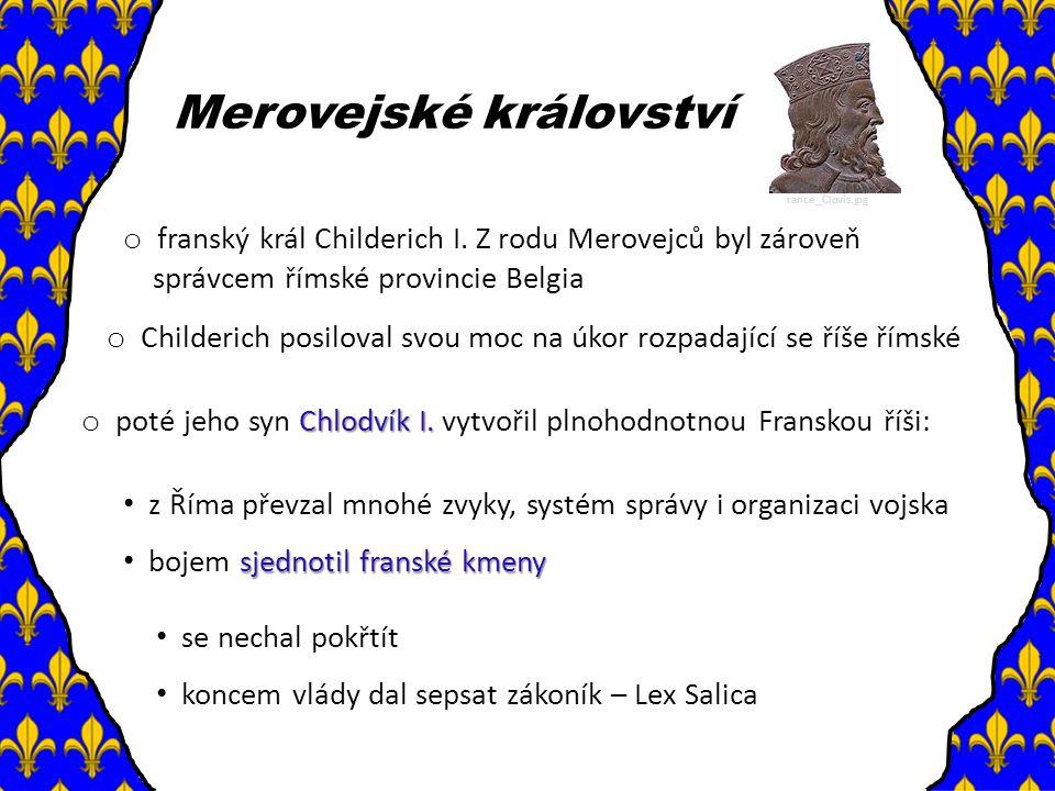 Merovejské království