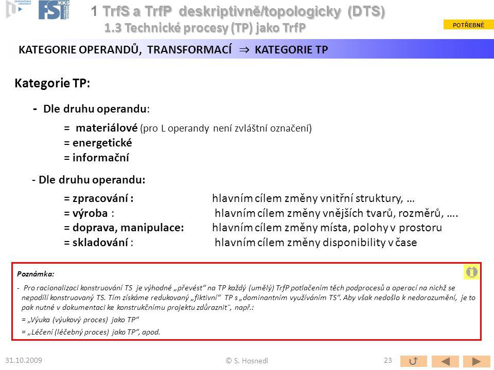 i 1 TrfS a TrfP deskriptivně/topologicky (DTS)