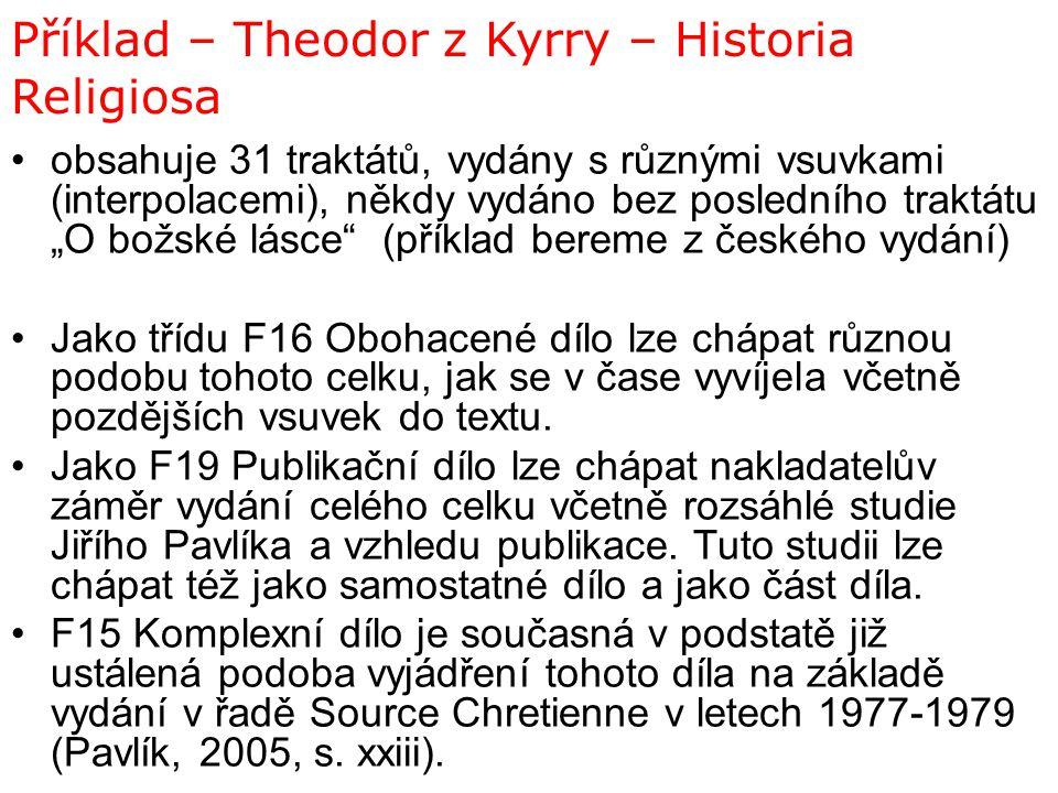 Příklad – Theodor z Kyrry – Historia Religiosa