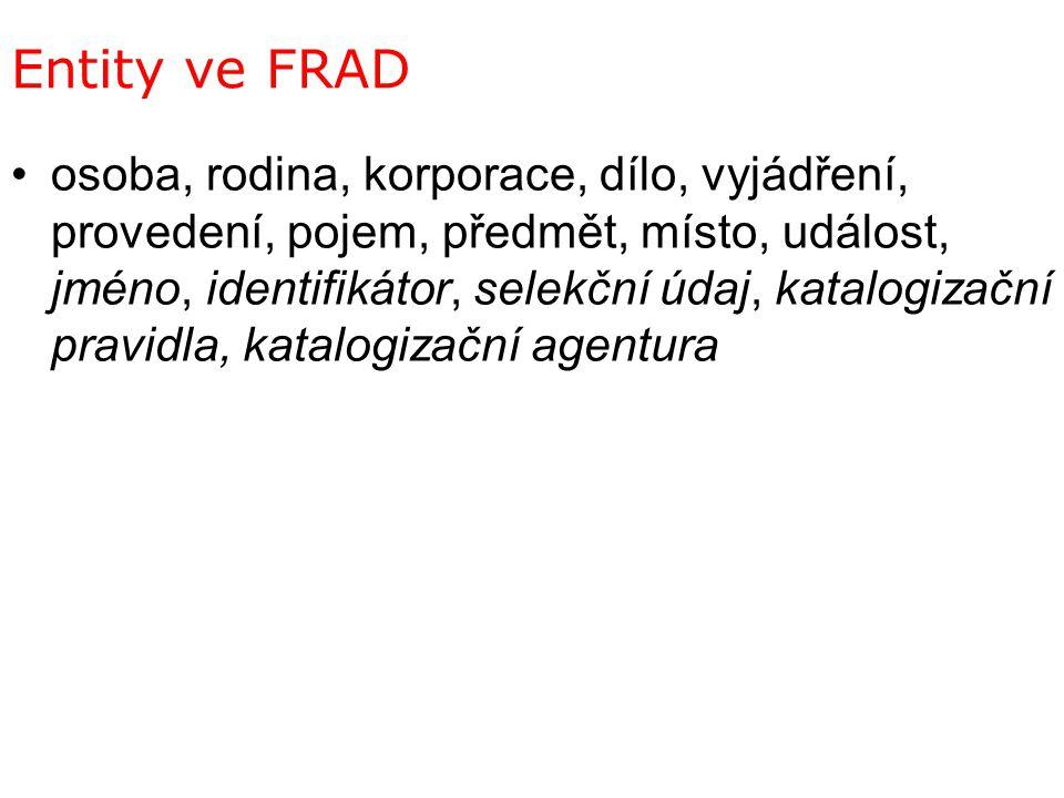 Entity ve FRAD
