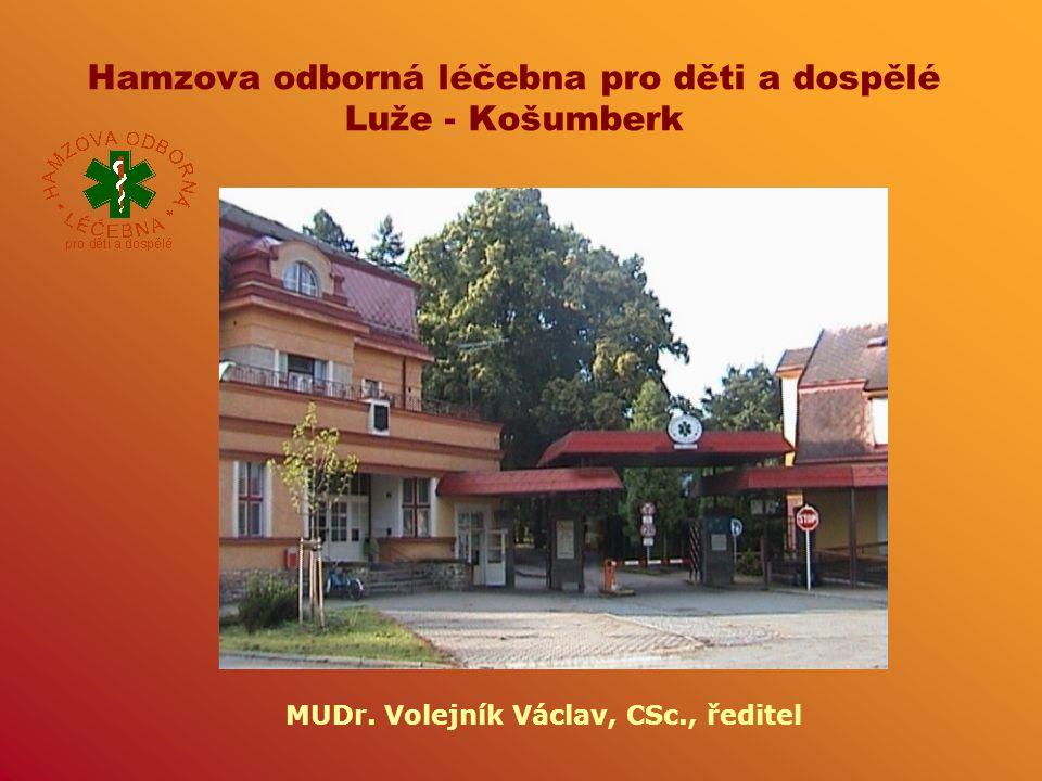 Hamzova odborná léčebna pro děti a dospělé Luže - Košumberk