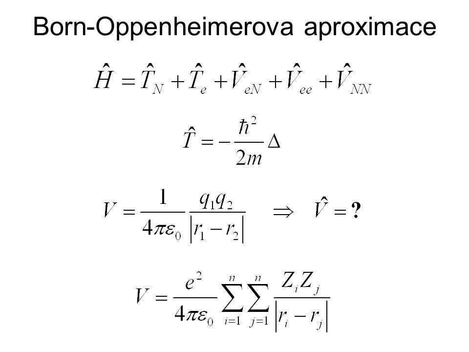 Born-Oppenheimerova aproximace