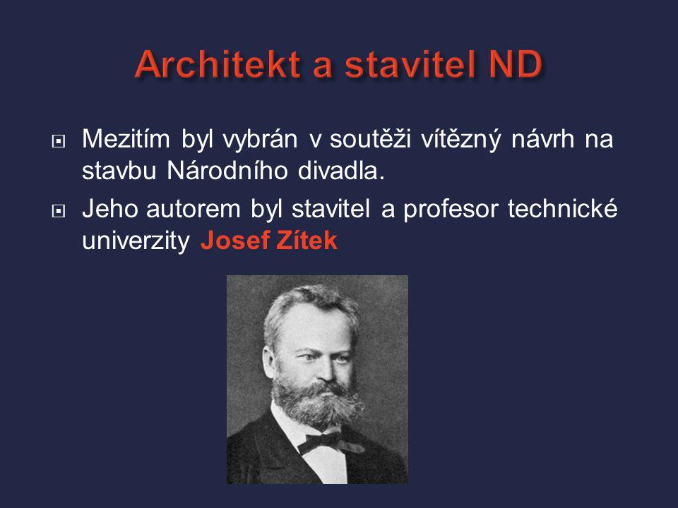 Architekt a stavitel ND