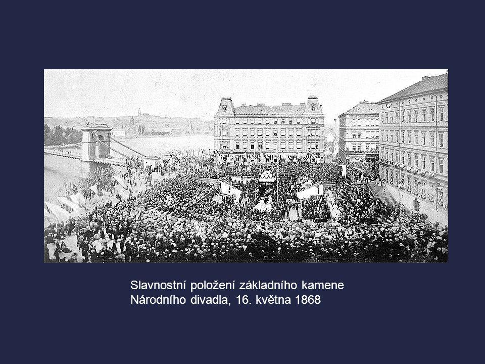 Slavnostní položení základního kamene Národního divadla, 16