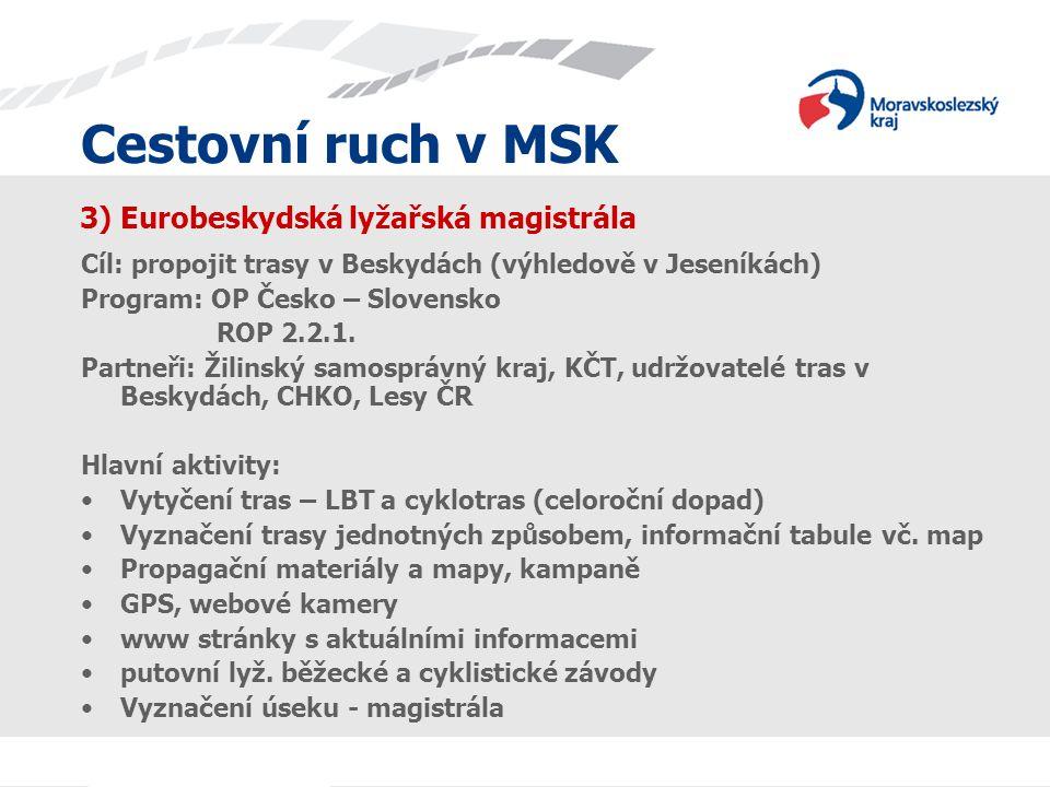 3) Eurobeskydská lyžařská magistrála