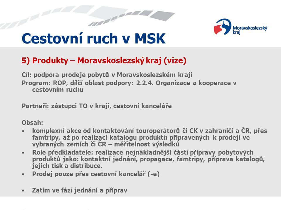5) Produkty – Moravskoslezský kraj (vize)