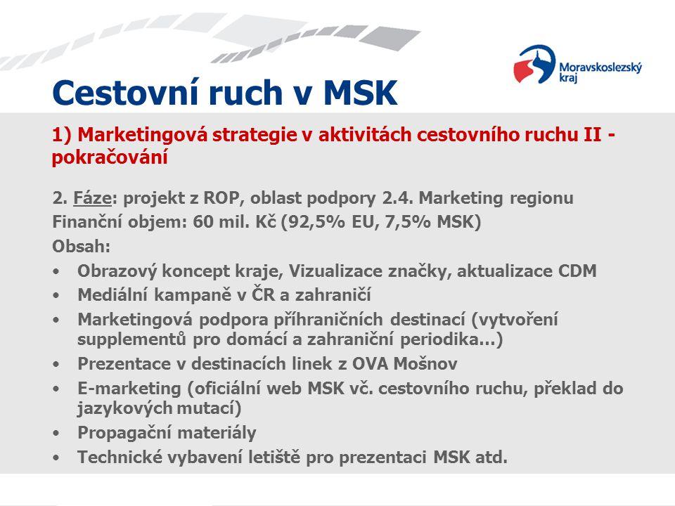 1) Marketingová strategie v aktivitách cestovního ruchu II -pokračování