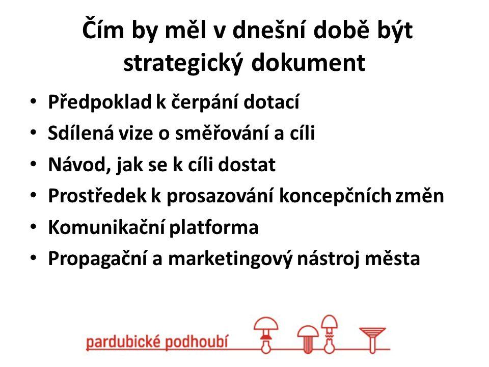 Čím by měl v dnešní době být strategický dokument