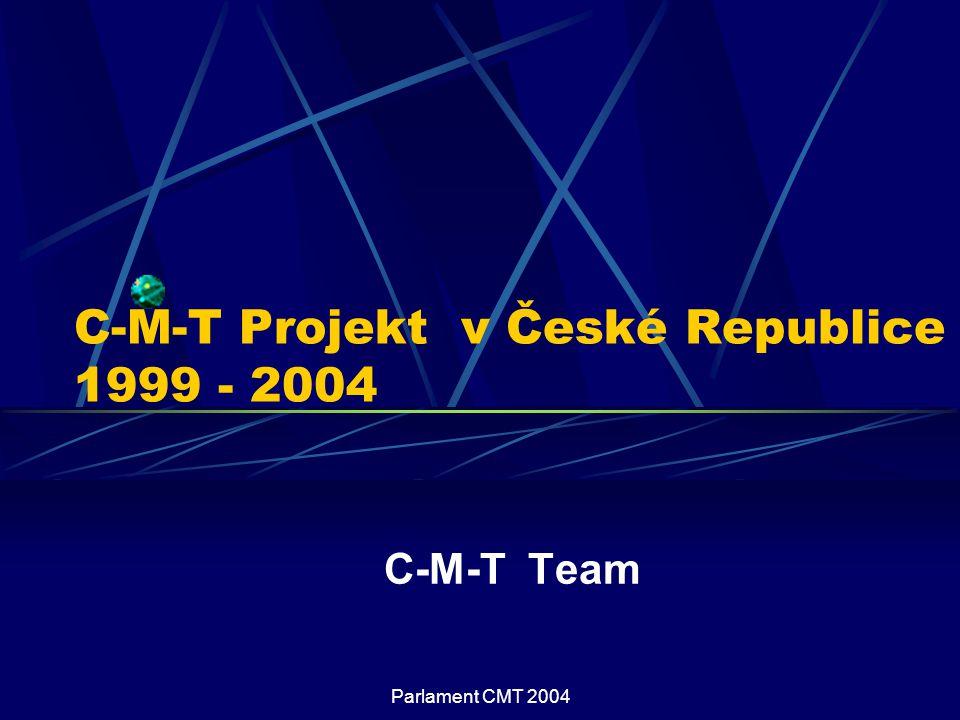 C-M-T Projekt v České Republice 1999 - 2004