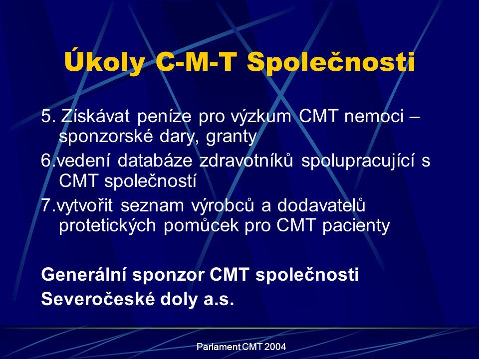Úkoly C-M-T Společnosti