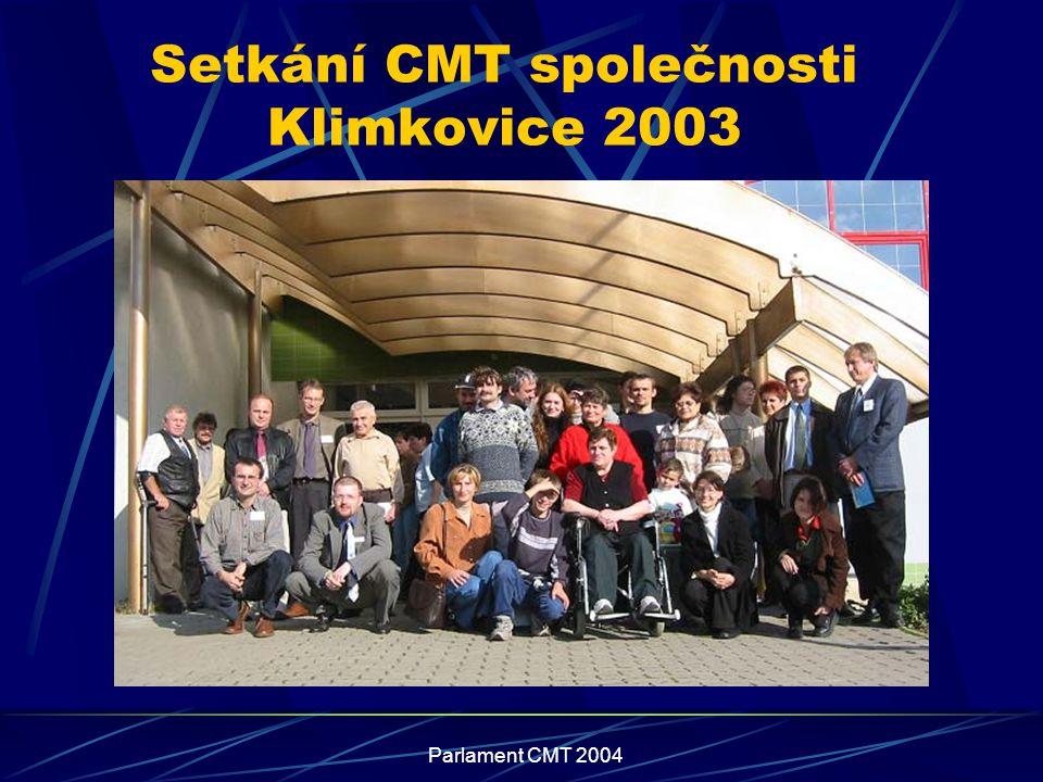 Setkání CMT společnosti Klimkovice 2003