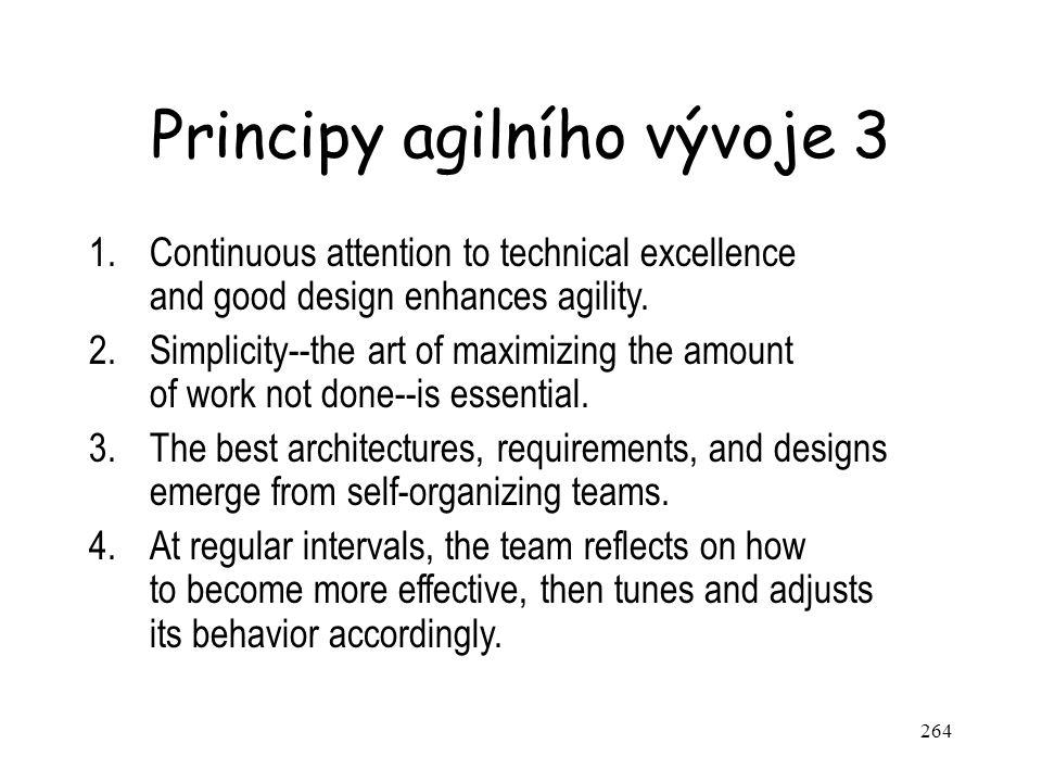 Principy agilního vývoje 3