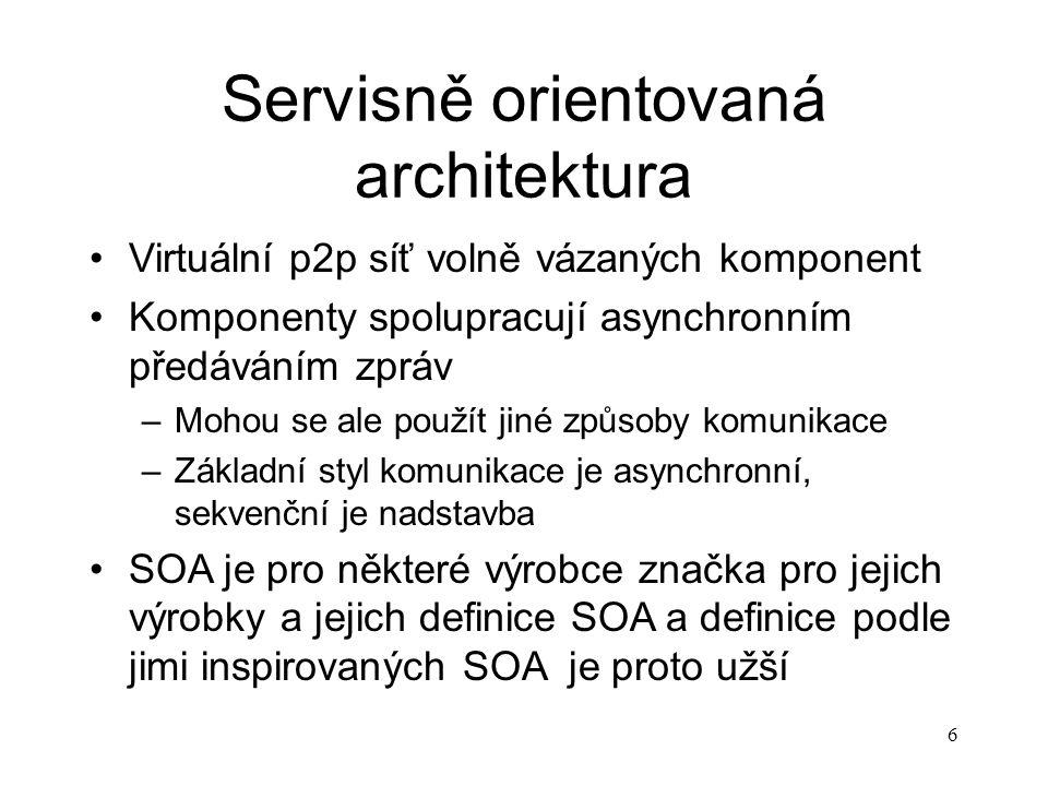 Servisně orientovaná architektura