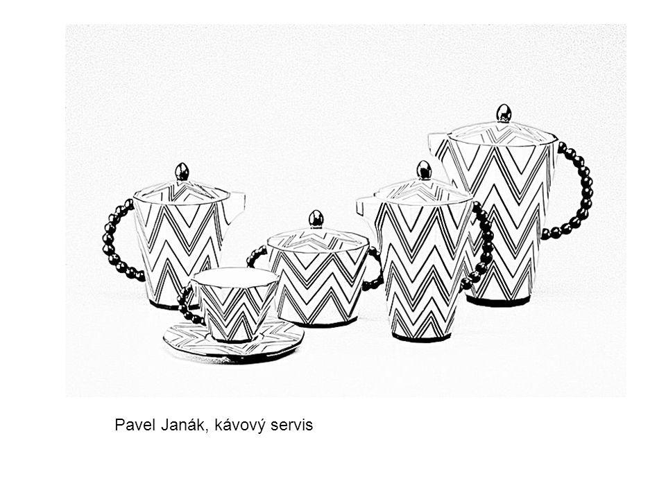 Pavel Janák, kávový servis