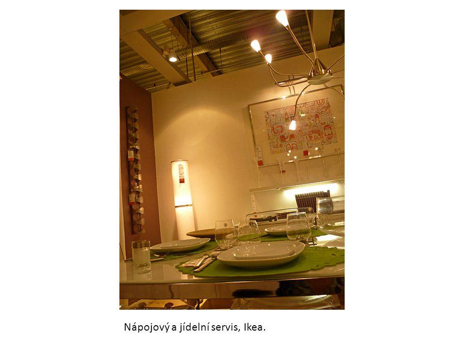 Nápojový a jídelní servis, Ikea.