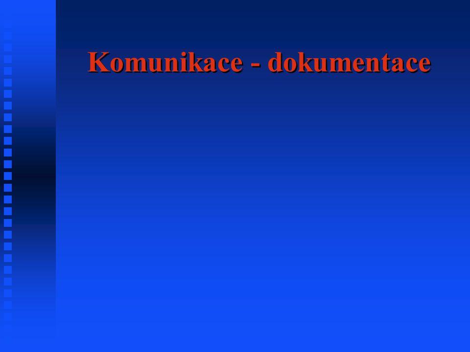 Komunikace - dokumentace
