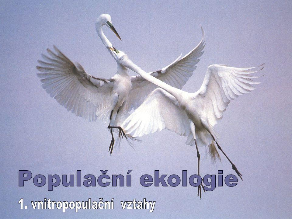1. vnitropopulační vztahy