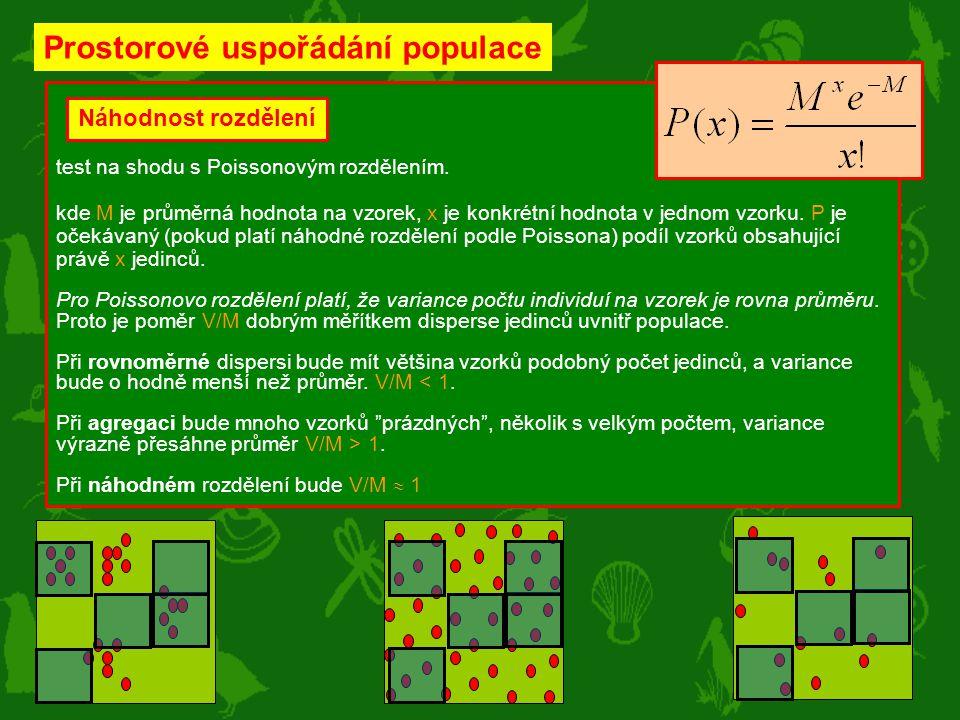 Prostorové uspořádání populace