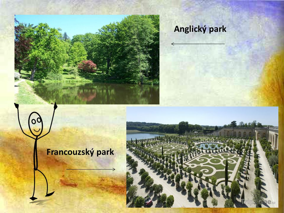 Anglický park Francouzský park