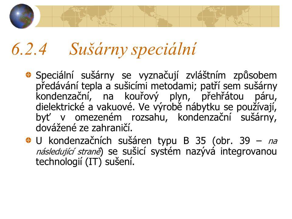 6.2.4 Sušárny speciální