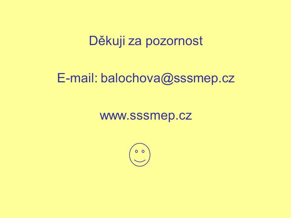 E-mail: balochova@sssmep.cz