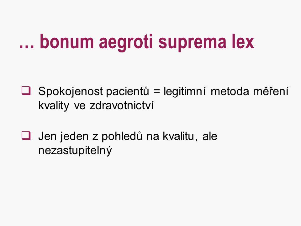 … bonum aegroti suprema lex
