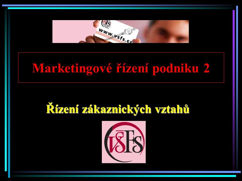 Marketingové řízení podniku 2
