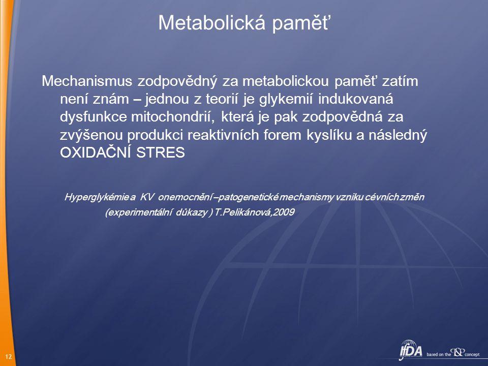 Metabolická paměť