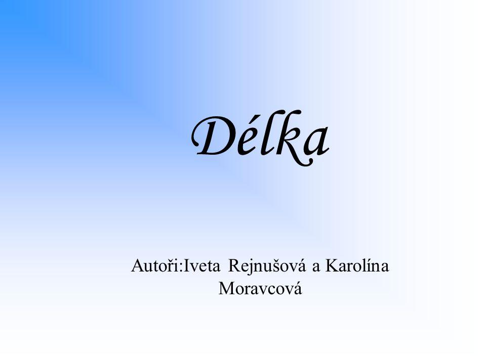 Autoři:Iveta Rejnušová a Karolína Moravcová