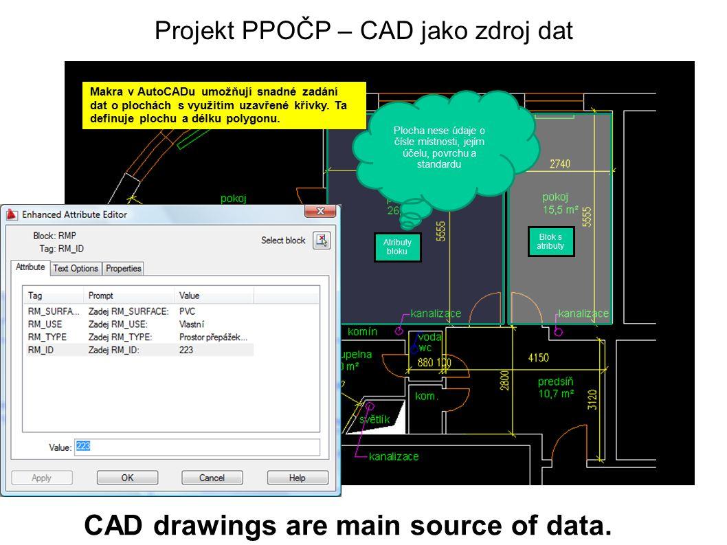 Projekt PPOČP – CAD jako zdroj dat