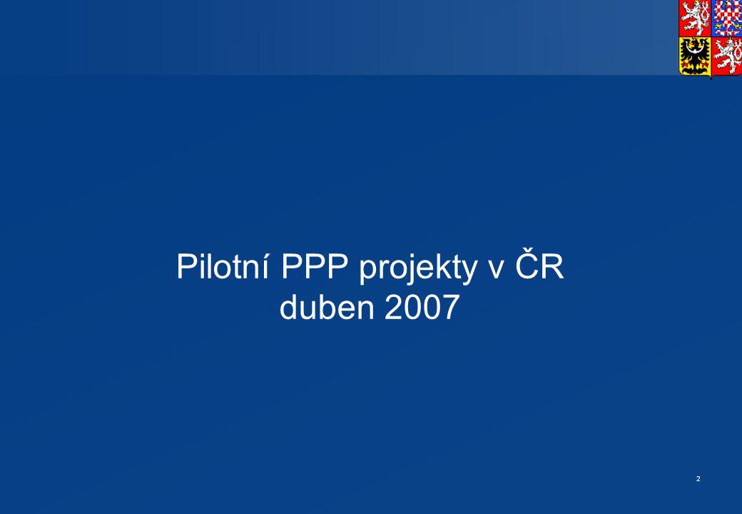 Harmonogram přípravy PPP