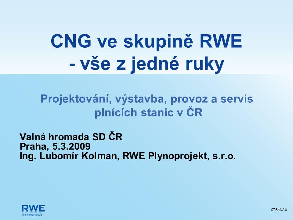 Skupina RWE v České republice