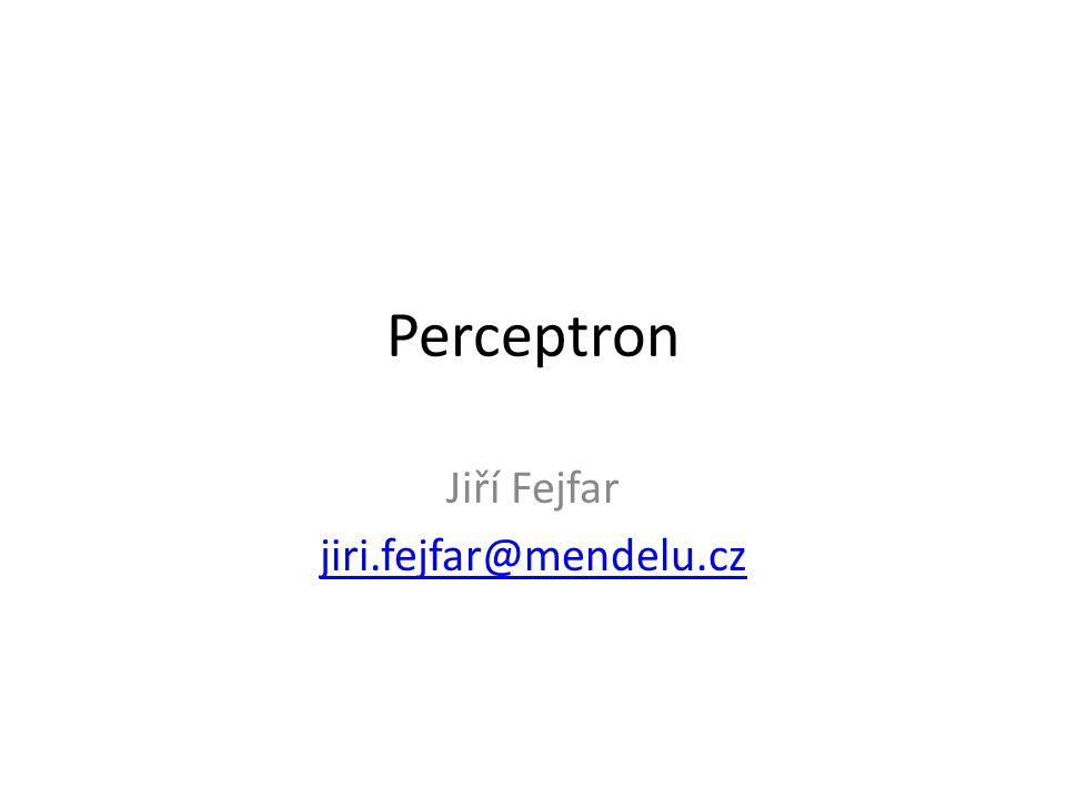 Jiří Fejfar jiri.fejfar@mendelu.cz