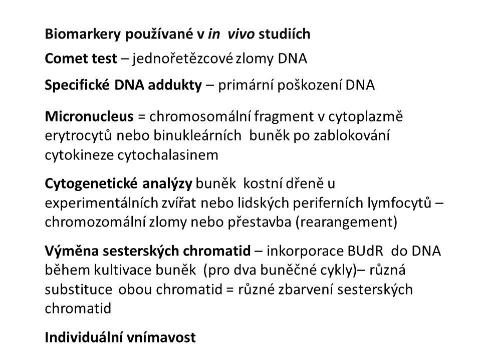 Biomarkery používané v in vivo studiích