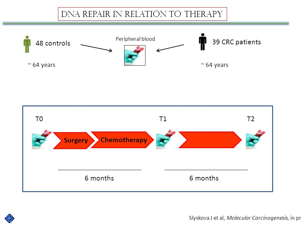 DNA repair in relation to therapy