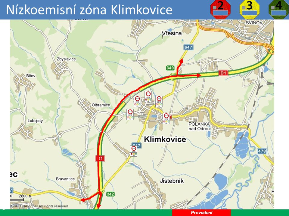 Nízkoemisní zóna Klimkovice
