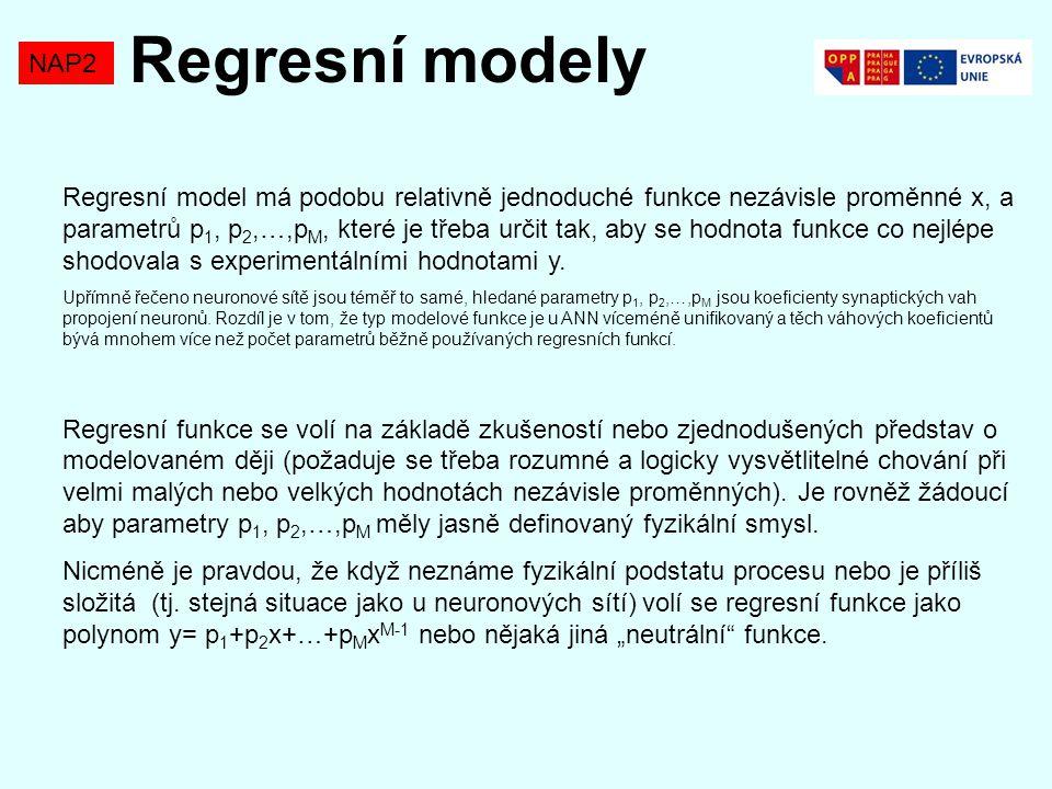 Regresní modely NAP2.