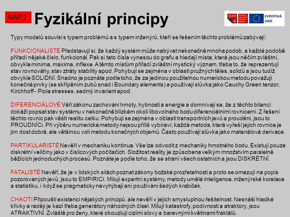 Fyzikální principy NAP2