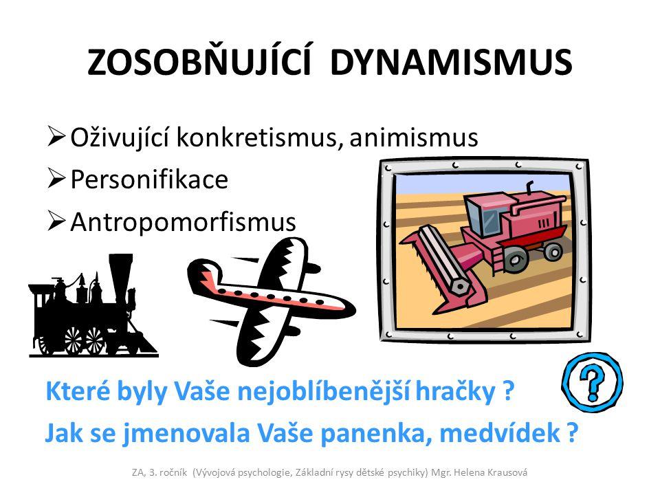 ZOSOBŇUJÍCÍ DYNAMISMUS