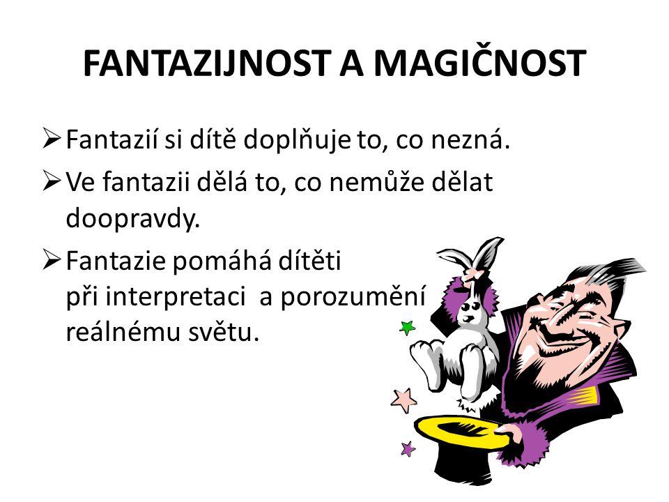 FANTAZIJNOST A MAGIČNOST