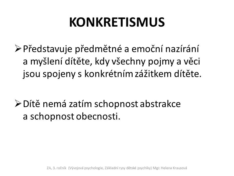 KONKRETISMUS