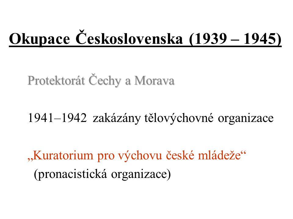 Okupace Československa (1939 – 1945)