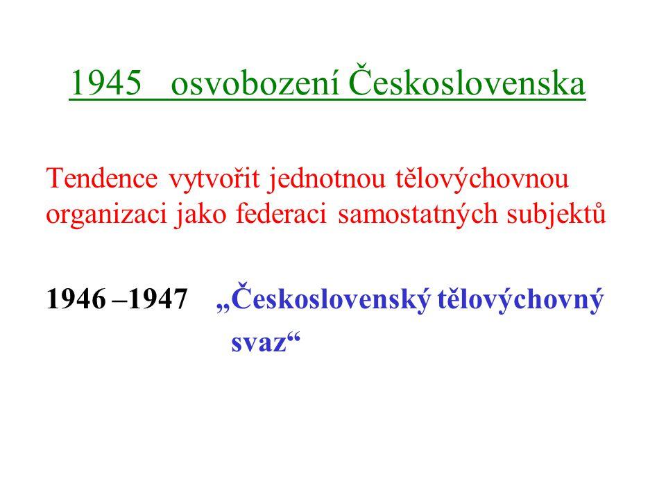 1945 osvobození Československa