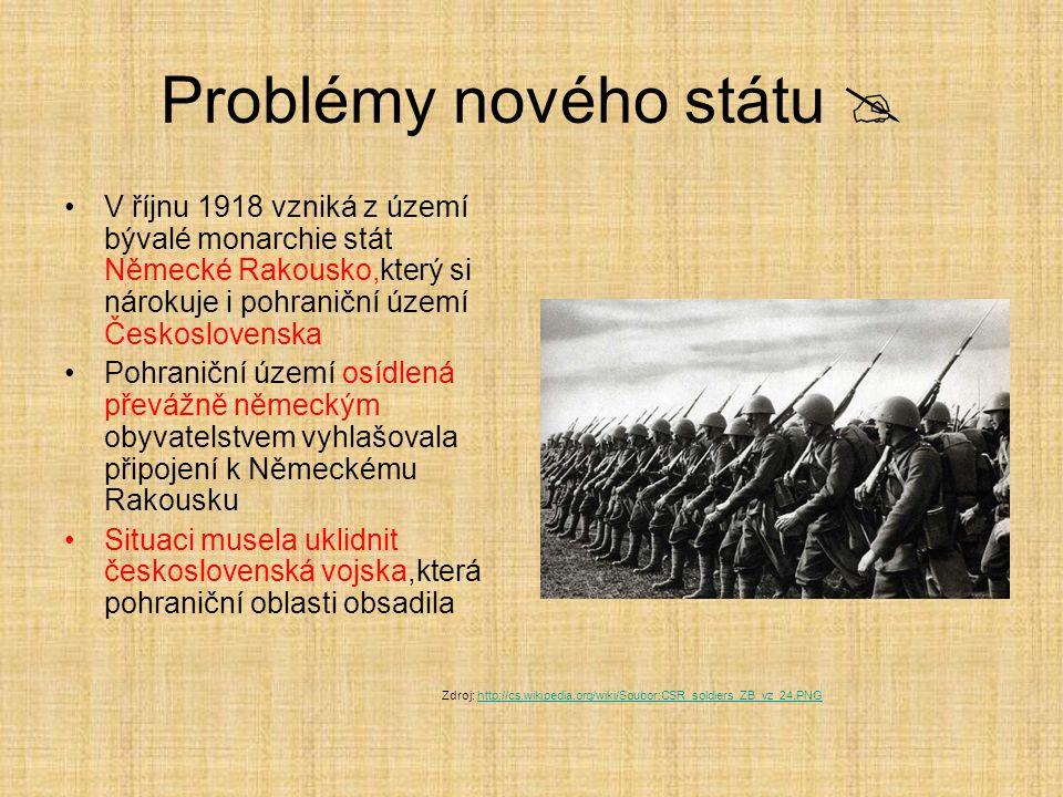 Problémy nového státu 