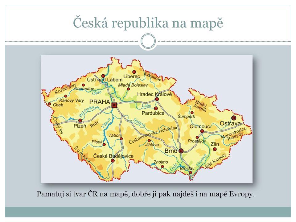 Česká republika na mapě