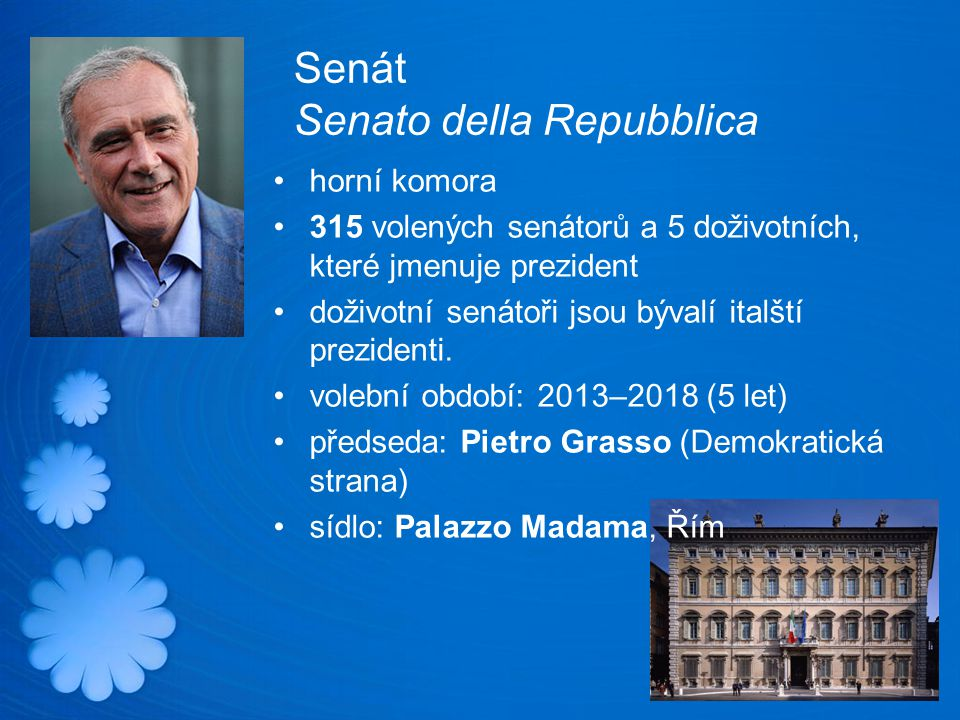 Senát Senato della Repubblica