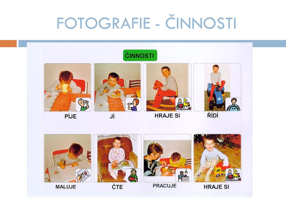 FOTOGRAFIE - ČINNOSTI